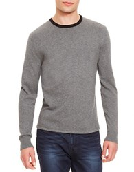 Kenneth Cole Solid Tipped Sweater Grey