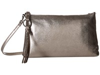 Hobo Darcy Hematite Cross Body Handbags Silver