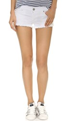 True Religion Joey Cutoff Shorts Optic White
