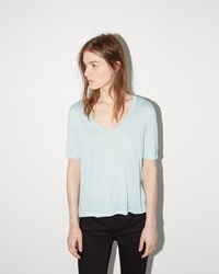 Alexander Wang Classic Cropped Tee Wave
