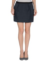 Elizabeth And James Skirts Mini Skirts Women Dark Blue
