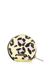 Yellow Leopard Coin Purse By Skinnydip Multi