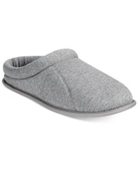 Club Room Men's Jersey Clog Slippers Only At Macy's Grey Htr