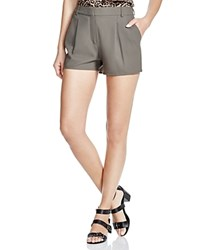 The Kooples Crepe Shorts 100 Bloomingdale's Exclusive Olive Green