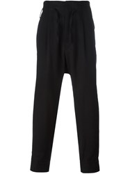 Haider Ackermann Loose Fit Trousers Black