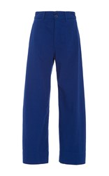 Apiece Apart Merida Cropped Pants Blue