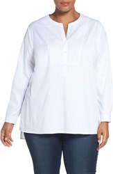 Nydj Plus Size Women's Tunic Shirt