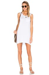 Chaser Open Back Mini Dress White