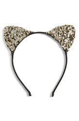 Cara Sequin Cat Ears Headband
