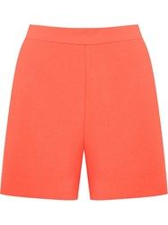 Andrea Marques Side Slit Pockets Short Yellow And Orange
