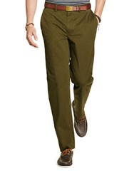 Polo Big And Tall Stretch Classic Fit Twill Pants Olive