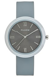 Pilgrim Watch Silvercoloured Grey