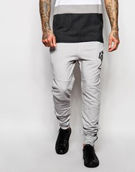 Religion Oil Wash Tracksuit Joggers Grey