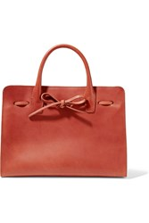 Mansur Gavriel Sun Leather Tote Camel