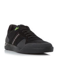 Hugo Boss Feather Tenn Rubber Toe Trainers Black