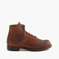 Red Wing For J.Crew Beckman Boot Bomber Brown