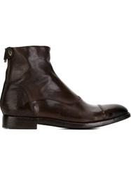 Alberto Fasciani Ankle Boots Brown