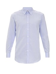 Gieves And Hawkes Button Down Collar Cotton Shirt