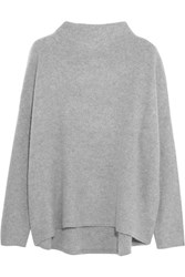 Vince Boiled Cashmere Sweater Gray