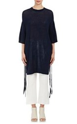 3.1 Phillip Lim Women's Poncho Inspired Tunic Blue