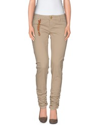 Jfour Denim Denim Trousers Women Beige