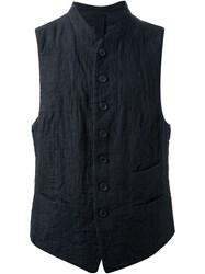 Forme D'expression 'French' Waistcoat Black