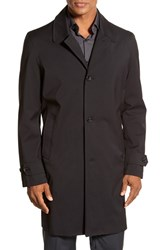 Men's Big And Tall Michael Kors Trim Fit Waterproof Overcoat