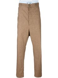 Vivienne Westwood Man Loose Fit Pants Brown