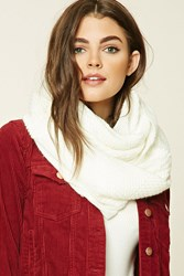 Forever 21 Raspberry Knit Infinity Scarf