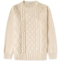 Inis Meain Inis Meain Cable Crew Knit
