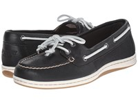 Sperry Firefish Core Black White Women's Lace Up Casual Shoes