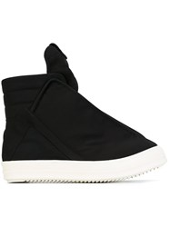 Rick Owens Drkshdw 'Hoofdunks' Hi Top Sneakers Black