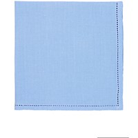 Simonnot Godard Men's Jour Venise Pocket Square Blue