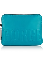 3.1 Phillip Lim Gorge 31 Embossed Leather Clutch
