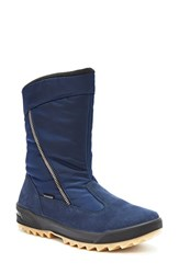 Blondo Women's Iceland Waterproof Snow Boot Navy Multi Fabric