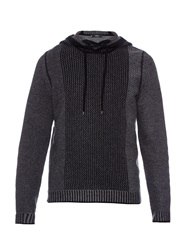 Vince Wool And Cashmere Blend Hooded Sweater