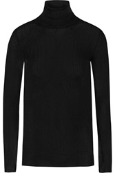 Gucci Ribbed Cashmere Turtleneck Sweater