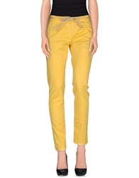 Uncode Casual Pants Yellow
