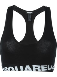 Dsquared2 Underwear Sports Bra Black