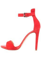 Mai Piu Senza High Heeled Sandals Rouge Red