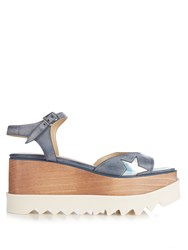Stella Mccartney Elyse Platform Sandals Light Blue