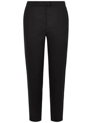 Jaeger Linen Slouchy 7 8 Chinos Black