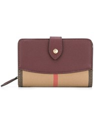 Burberry Colour Block Wallet Multicolour