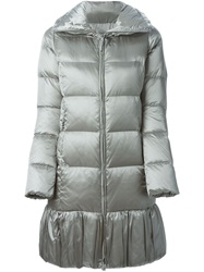 Ralph Lauren Black Label Ralph Lauren Black 'Madison' Padded Coat Grey