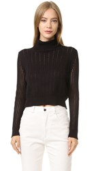 Rachel Comey Cropped Turtleneck Black