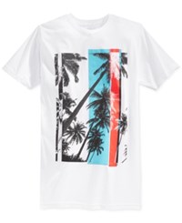 American Rag Men's Graphic Print T Shirt Only At Macy's White