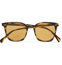 Oliver Peoples L.A Coen Square Frame Acetate Sunglasses Brown