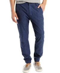 Levi's Men's Chino Jogger Pants Navy Chambray