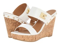 Tommy Hilfiger Madasen White Natural Women's Wedge Shoes