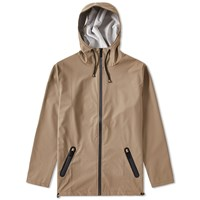 Rains Breaker Jacket Brown
